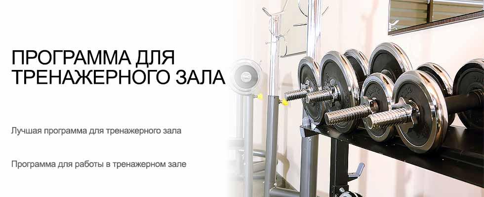 Программа для тренажерного зала УСУ